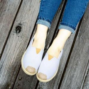 帅跑狼T-7色系列女士一脚蹬渔夫鞋 9.9元