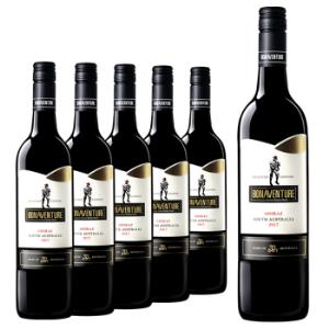 红酒整箱澳洲原瓶原装进口西拉干红葡萄酒博纳旺蒂正品情侣螺旋盖750ML进口红酒整箱特价    299元