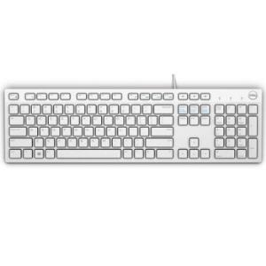 戴尔(DELL)KB216多媒体办公键盘(白色)49.9元