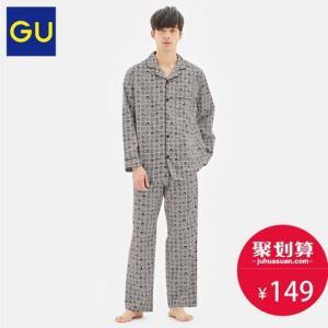 GU男装睡衣DORAEMON哆啦A梦2020春季新款 149元