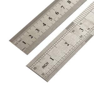 金达羽不锈钢直尺15cm2把装 3.58元(需用券)