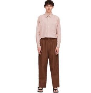 UNIQLO优衣库425782男士宽腿休闲裤