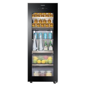 卡萨帝(Casarte)192升双温区智能保鲜冰吧茶叶饮料储藏柜客厅保鲜柜LC-192WU1 7099元