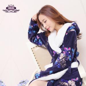 御庭珊瑚绒睡袍 48元(需用券)