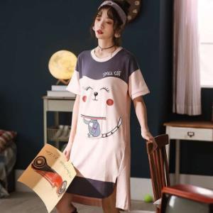 曼之伴 3029 女士棉质卡通睡裙 25元包邮(需用券、拼购价)