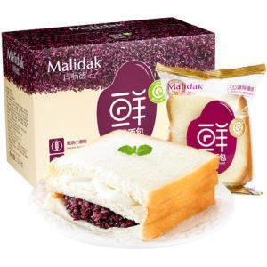 玛呖德紫米面包1100克 16.9元