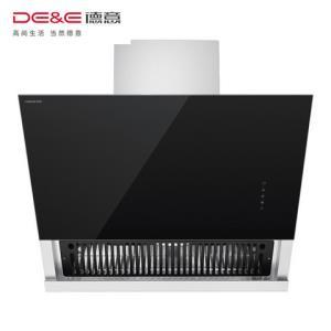 德意(DE&E)20立方侧吸式大吸力油烟机CXW-230-858E触控式抽油烟机一级能效抽烟机 2344元