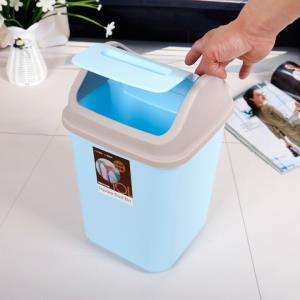 带盖垃圾桶家用客厅卧室可爱厨房卫生间大小号厕所创意摇盖拉圾筒6.7元(需用券)