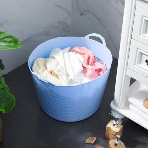 MIMIHUA/蜜蜜花塑料脏衣篮收纳桶12L8.5元(需用券)