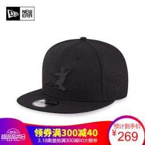 NEWERA纽亦华李小龙联名系列棒球帽平檐帽时尚休闲鸭舌帽运运动潮流棒球帽黑色12150323SM    267元
