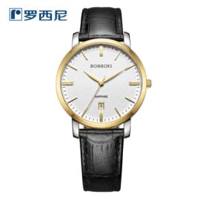ROSSINI罗西尼商务系列SN514461T01A男士时装腕表*2件 599元(合299.5元/件)