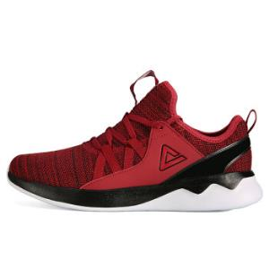 匹克(PEAK)男鞋时尚轻逸跑步鞋耐磨舒适运动鞋DH840221体育红45码*7件    576元(合82.29元/件)