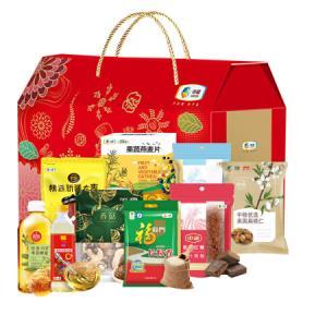 中粮食品组合装杂粮坚果食品组合米油食品3788g+900ml    196元
