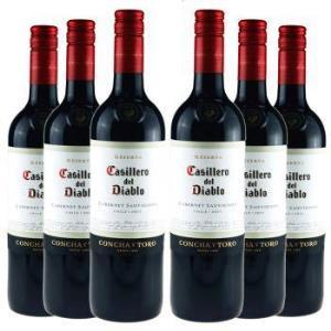 智利原瓶进口红酒干露红魔鬼卡本妮苏维翁干红葡萄酒六支装750ml×6259元