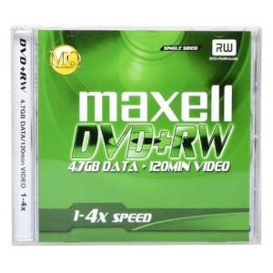 日本Maxell麦克赛尔DVD+RW光盘刻录光碟11.9元包邮(需用券)