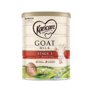 保税直发物流快:新西兰karicare可瑞康婴幼儿配方国宝级绵羊奶3段900g12个月以上*3罐(合239一罐)719元包邮