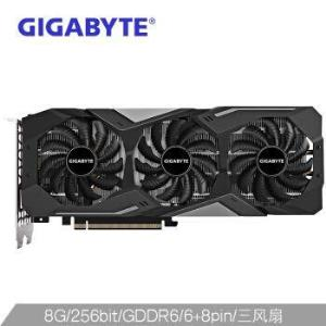 技嘉(GIGABYTE)GeForceRTX2080SUPERWINDFORCEOC8G256bitGDDR6吃鸡电竞游戏显卡5649元