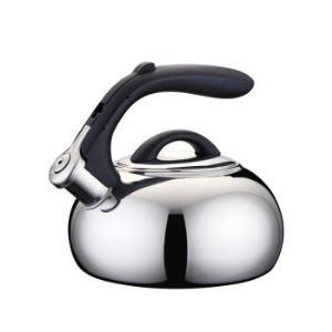 铂帝斯(BODEUX)P3笛音水壶1.8L-1.9QT复打底电磁炉燃气鸣音烧水壶99元