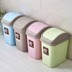 莱杉垃圾桶带盖垃圾筒10L19.7元