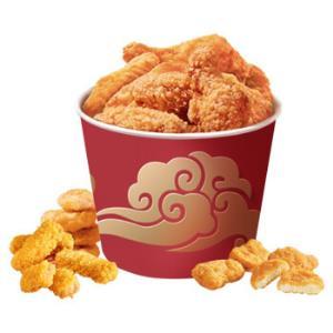 凤祥食品炸鸡家庭桶半成菜品1.9kg 59.9元(需用券)