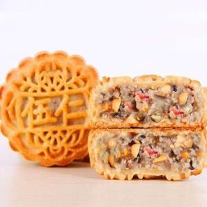 岱香园广式手工老式月饼多种口味可选5个约500g*3件 23.8元(需用券,合7.93元/件)
