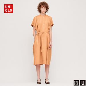UNIQLO优衣库425583女士衬衫式连衣裙 149元