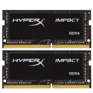 金士顿(Kingston)DDR4240032GB(16G×2)套装笔记本内存条骇客神条Impact系列 854元