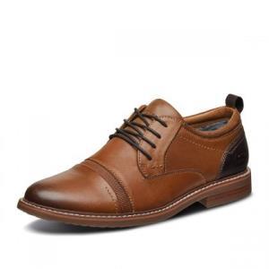 SKECHERS斯凯奇66402男士商务休闲皮鞋 239元包邮