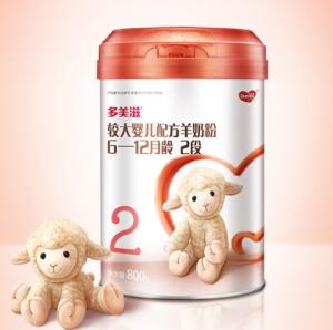 Dumex多美滋较大婴儿配方羊奶乳粉2段800克 300元
