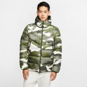 NIKE耐克SportswearDownFillWindrunner男子印花连帽夹克 709元
