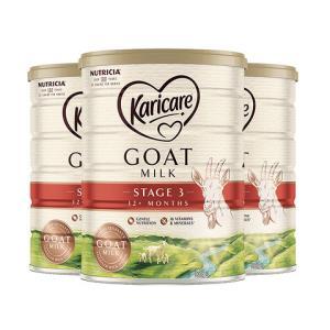 Karicare可瑞康婴幼儿羊奶粉3段900g3罐装782元