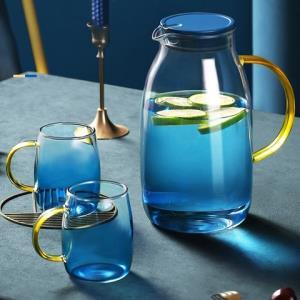 花间道凉水壶玻璃杯套装1800ml 29元(需用券)