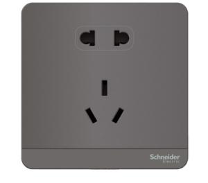 SchneiderElectric施耐德灰色五孔插座10只装 229.4元(需用券)