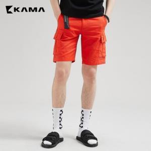 Kama2218215男士工装五分裤*2件29元(合14.5元/件)