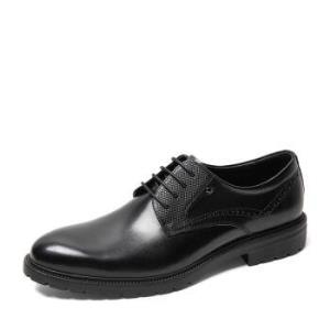 BeLLE百丽6CE01CM9男士牛皮皮鞋 419元