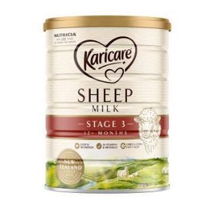 Karicare可瑞康幼儿配方绵羊奶粉3段900g*3件861.9元(合287.3元/件)