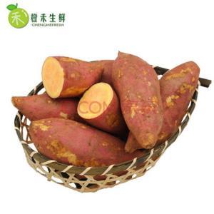 橙禾生鲜六鳌蜜薯糖心地瓜5斤19.8元包邮(需用券)