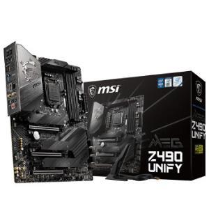 MSI微星MEGZ490UNIFY暗影板主板(IntelZ490/LGA1200) 2299元