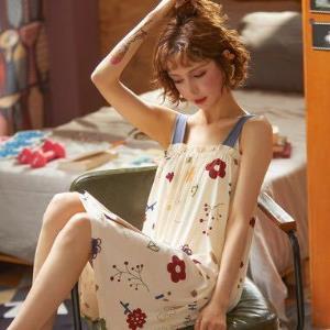 俞兆林夏季女士吊带睡衣M~XXL 16.9元(需用券)