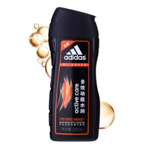 阿迪达斯(Adidas)男士多效动能水润去屑洗发水220ml洗发露活力头皮洗头膏补水滋养头发去屑*2件 19.9元(合9.95元/件)