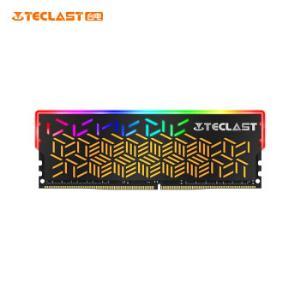 台电TECLASTDDR430008G台式机内存条幻影系列-RGB灯条/游戏超频/稳定兼容 249元