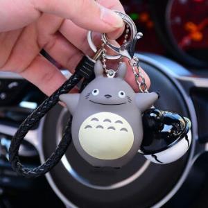 情侣钥匙扣汽车铃铛挂件包包钥匙圈    11.9元