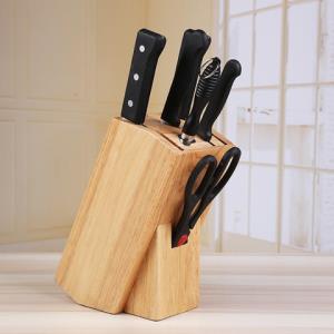 木杰厨房刀具收纳架实木刀架置物架    49元(需用券)