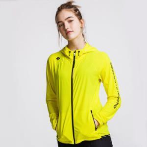 DESCENTE迪桑特ACTIVE运动版型女子针织跑步外套D8322RFT93荧光黄-LMM(165/84A) 830元(需用券)
