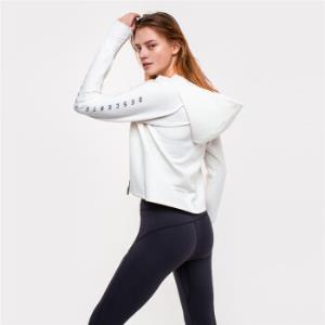 DESCENTE迪桑特F360版型女子跑步针织运动外套D9332RFT03米白色-IVS(160/80A) 910元(需用券)