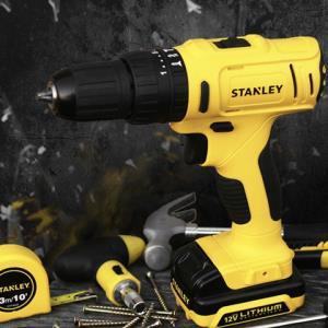 小编精选:史丹利SCH12S1H-A912v锂电冲击钻套装 一套在手,家装无忧,整箱工具,配件齐全