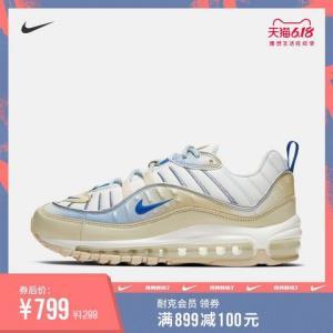 Nike耐克官方NIKEAIRMAX98LX女子运动鞋休闲鞋气垫鞋CD0685 799元