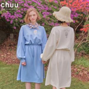 chuuAHB1238Y卡通卫衣连衣裙 低至179.9元/件