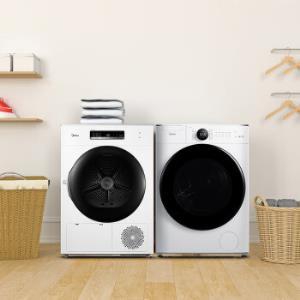 美的(Midea)洗衣机全自动滚筒10公斤MG100V70WD5+MH100-H1W6099元包邮(需用券)
