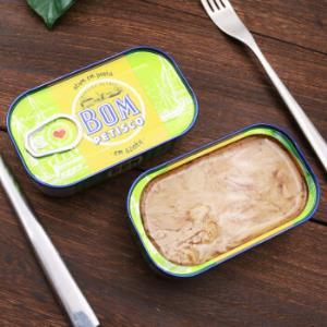 葡萄牙进口棒滋味(BonAppetit)金枪鱼罐头橄榄油浸方便速食鱼罐头120g*2件    39.8元(需用券,合19.9元/件)